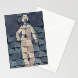 CHAPLIN'S BLUE PRINT #society6 Stationery Cards