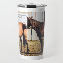 Guy McLean's Horses Travel Mug