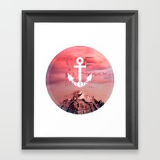 WE KNOW FUTURE Framed Art Print