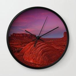 Monument Valley, USA #society6 #decor #buyart Wall Clock