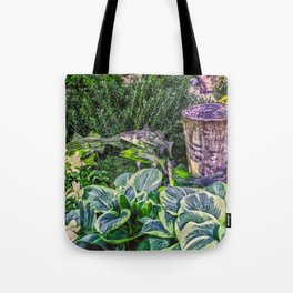 Greens and Yellows Garden Tote Bag
