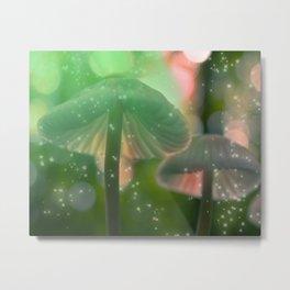 """""""Magic Mushroom"""" Metal Print"""