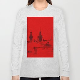 University of Tampa -- Black and Red Long Sleeve T-shirt