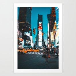 Your Way Art Print
