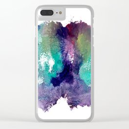 Remedy Sky's Pussy Print Clear iPhone Case