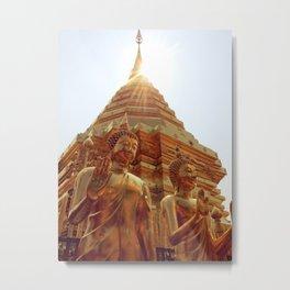 Blessed Buddha Metal Print