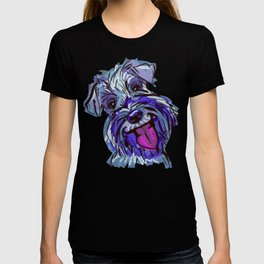 The Smiley Schnauzer Dog Love of my Life! T-shirt