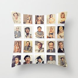 Carry On Stars Throw Pillow