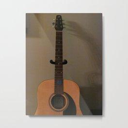 Reach For The Guitar Metal Print
