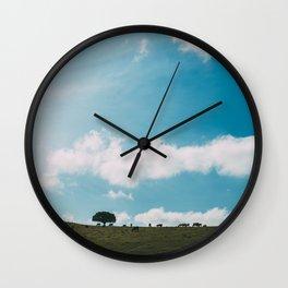 escape landscape Wall Clock