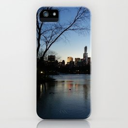 Dusk in the City iPhone Case