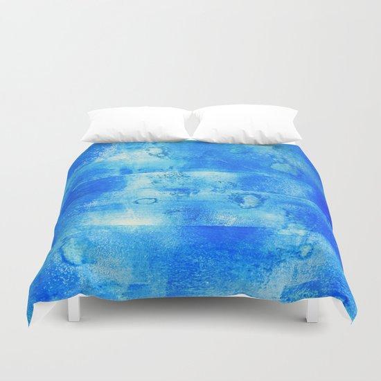 Blue Blue Duvet Cover