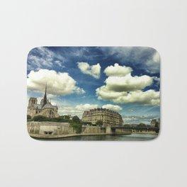 From the river Seine Bath Mat