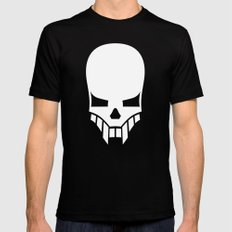 Sinister Skull Black Mens Fitted Tee 2X-LARGE