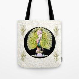 Art Deco Diva Rivalry Tote Bag