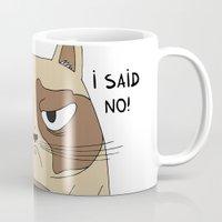 grumpy Mugs featuring Grumpy by Adrian Serghie