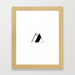 Everydaygeometric - Day Ten -  Framed Art Print