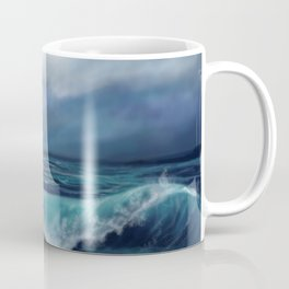 Moody waves Coffee Mug