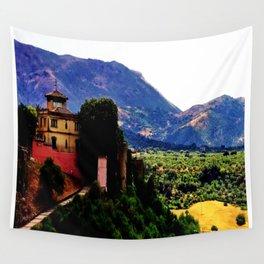 Ronda Villa  Wall Tapestry