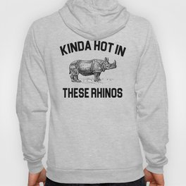 Ace Ventura - Kinda Hot In These Rhinos Hoody