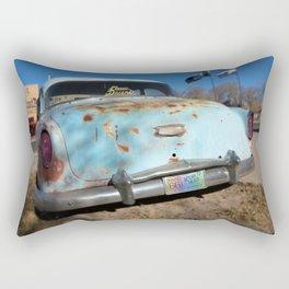 Classic Dreams in Blue Rectangular Pillow