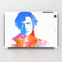 sherlock iPad Cases featuring Sherlock by Fimbis