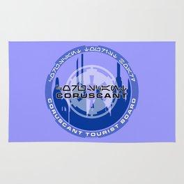 Coruscant Tourist Board Rug