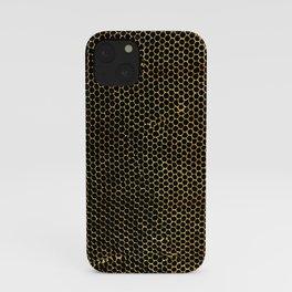 tiny honeycombs iPhone Case