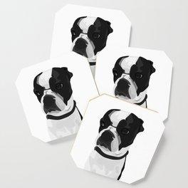 Tucker the Boston Terrier Coaster