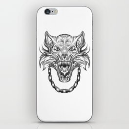 Norse Wolf Monster Fenrir iPhone Skin