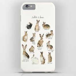 Rabbits & Hares iPhone Case