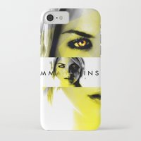 gemma correll iPhone & iPod Cases featuring GEMMA ATKINSON by OmaPRINTS