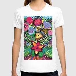 Tropical Flower Arrangement T-shirt