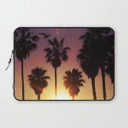 Venice Purple Sky Laptop Sleeve