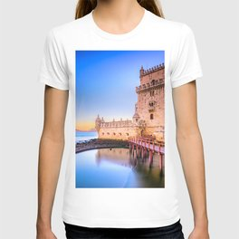 World Popular Beautiful Historic Fortress Europe UHD T-shirt