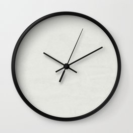 Simply Lunar Gray Wall Clock