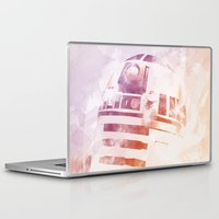 r2d2 Laptop & iPad Skins featuring R2D2 by eARTh