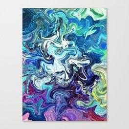 Glue Mind Canvas Print
