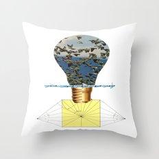 Ideas Come, Ideas Go Throw Pillow