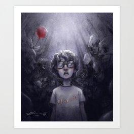 Richie – Clowns Art Print