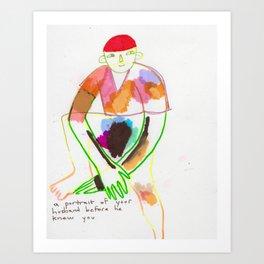 BEFORE YOU MET, Art Print