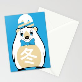 Fuyu - Season bear Winter Stationery Cards