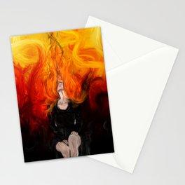 Fiery feelings Stationery Cards