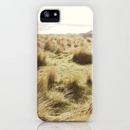 Windswept Grass I iPhone Case