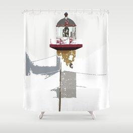 Phare Shower Curtain