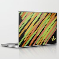 good vibes Laptop & iPad Skins featuring Good Vibes by Ms. Givens