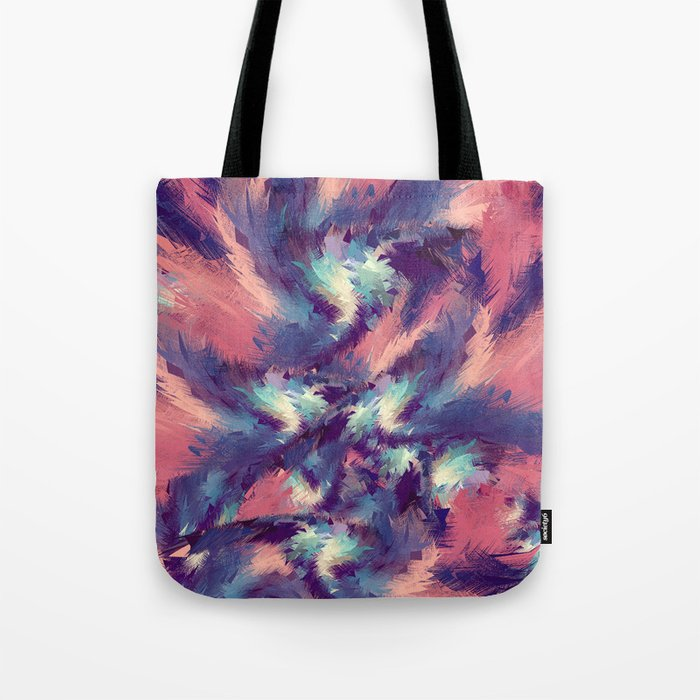 Colorful Energy Tote Bag