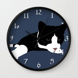 Lazy Reach Wall Clock