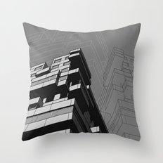 Southbank Flats Throw Pillow