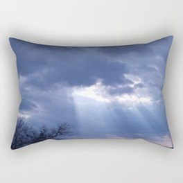Christmas Day God rays Rectangular Pillow